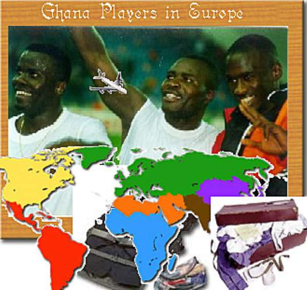 Ghanaian Players in Europe: Top 11