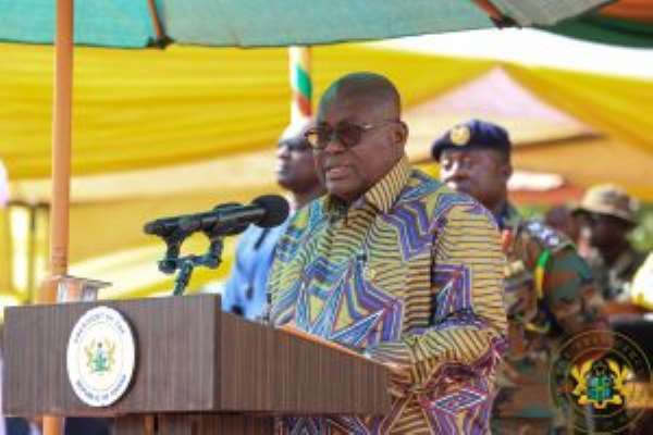 Akufo-Addo Unveils Rural Telephony Project