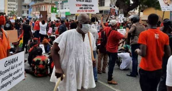 We're ready to die for Ghana – #FixTheCountry protesters