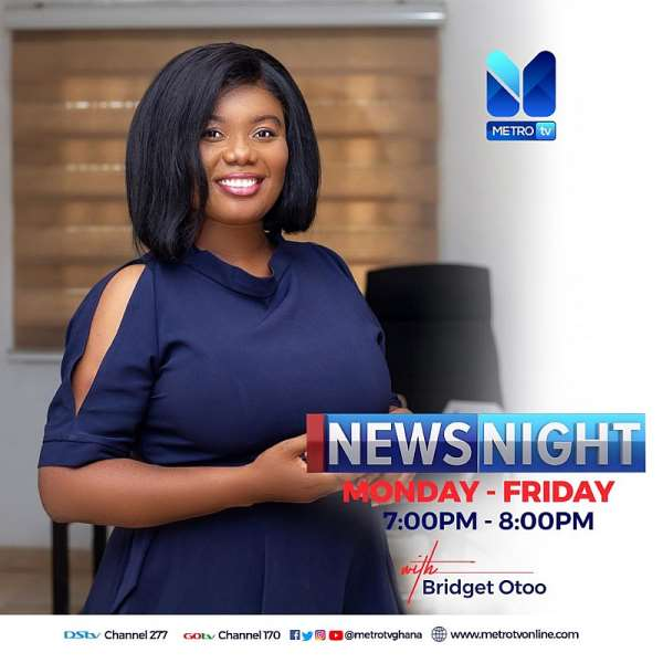 Bridget Otoo allegedly sacked from Metro TV because of Mahama and NDC ?