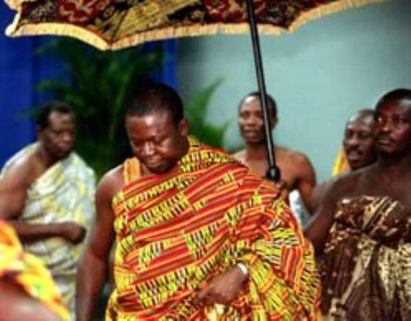 Set up basic industries in villages - Asantehene