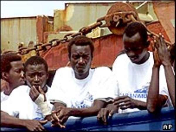 25,000  Ghanaians in Italy