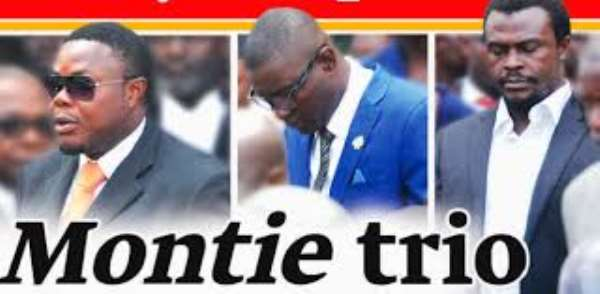 The Montie Triumvirate And Custodial Sentence: Please Stop The stampede And Intimidation O F The President And Support The Alternative sentencing Advocacy Agenda Instead