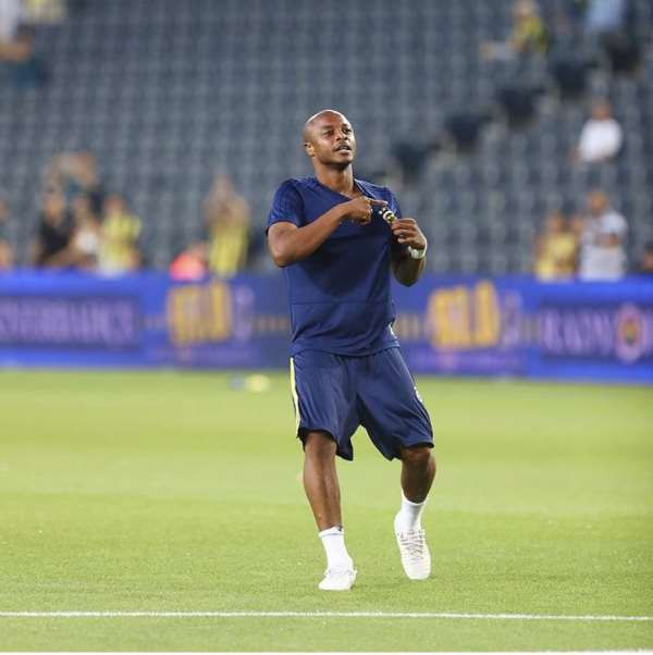 Ghana Star Andre Ayew Misses Fenerbahce Training Due To Injury