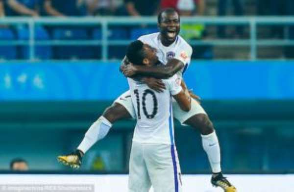 Frank Acheampong Recovers From Penalty Miss To Bag 11th League Goal For Tianjin Teda In Win At Hebei