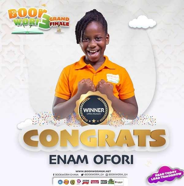 Parents, Teachers thrilled at Bookworm Season 3 finals as Enam, Nii Omanhene pick first positions
