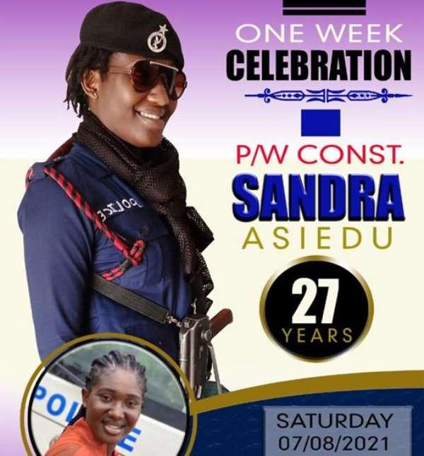 Damongo: One week celebration of slain Police woman slated for Saturday