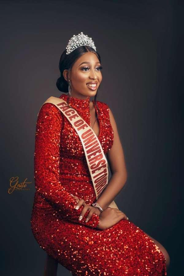 Face of Universe Nigeria Tourism Osajiele ethel stuns in new photos