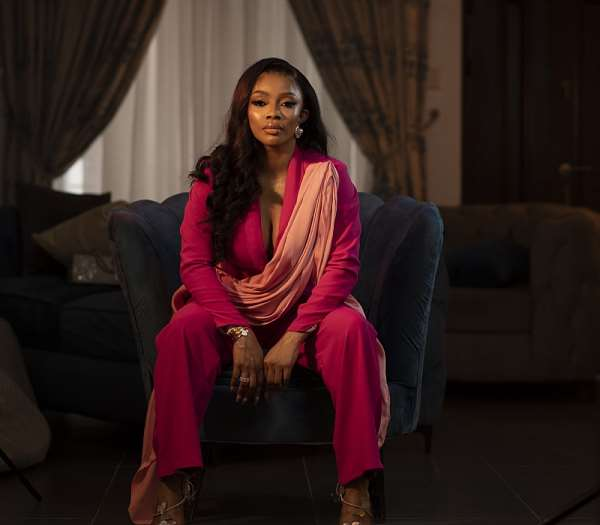 I like the different versions of me that people have in their minds - Toke Makinwa