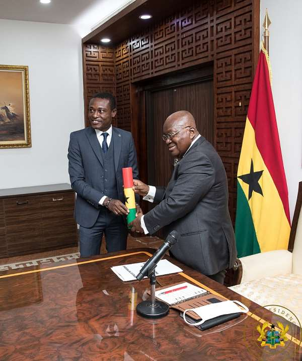 I don't regret appointing Martin Amidu as Special Prosecutor; I'm consoled by 'no use crying over spilt milk'  – Akufo-Addo
