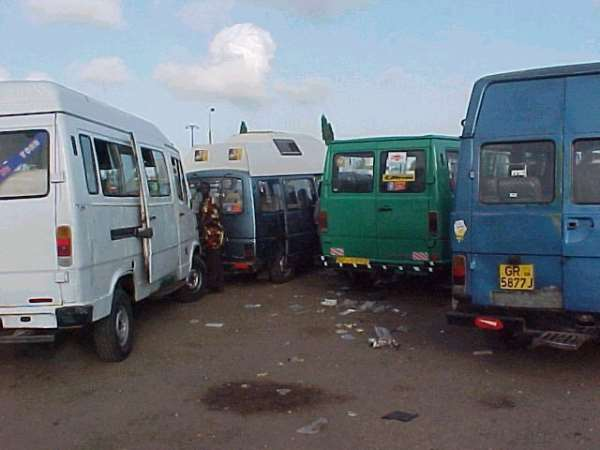 Tro-tro and Accra's intra-city travels