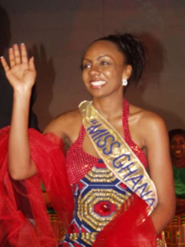 Miss Ghana Turned Away For Being Late