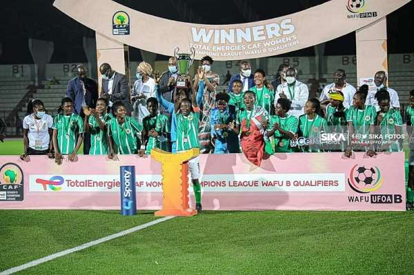 Hasaacas Ladies beat  Nigeria's Rivers Angels to win in Caf WCL Wafu B final
