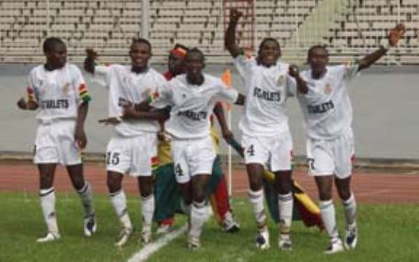 Gambia'05:  Ghana cruises to finals