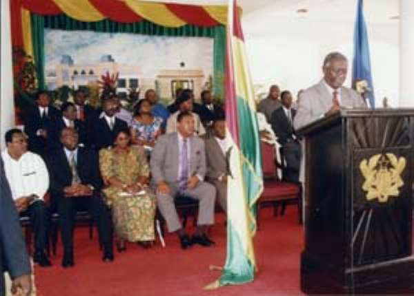 Confusion in President Kuffour's Press Conference.