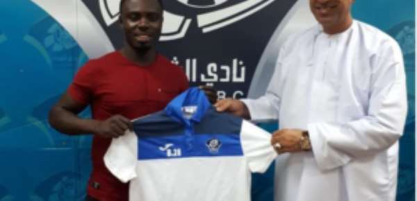 Ghanaian Midfielder Ernest Paa Ohene Extends Contract With Oman Side Al Shabab To 2019