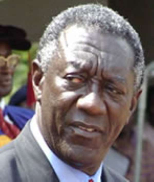 Is it fair for president Kufuor to lash out at his critics?
