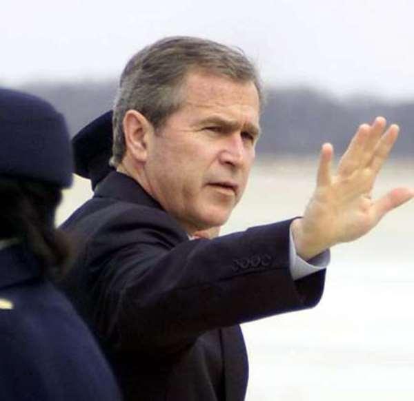 Bush Greets Ghanaians