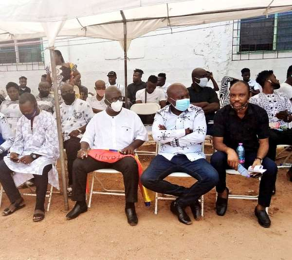 PHOTOS: Hearts Of Oak Mourns With Benjamin Afutu As Mom Is Laid To Rest