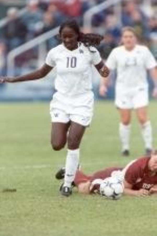 Ghanaian Female Soccer Star Shines In The U.S.