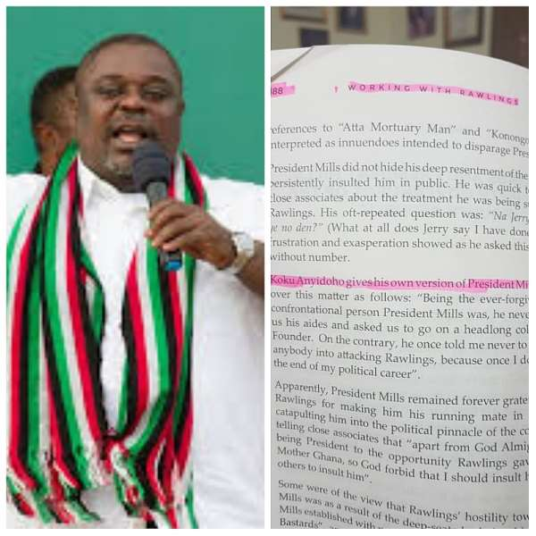 Kwamena Awhoi's Controversial Book Vindicates Former NDC Deputy General Secretary Mr. Koku Anyidoho