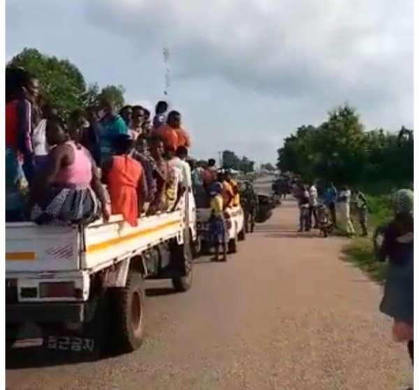 [VIDEO] Mahama Explains Busing Of People To Registration Center At Banda