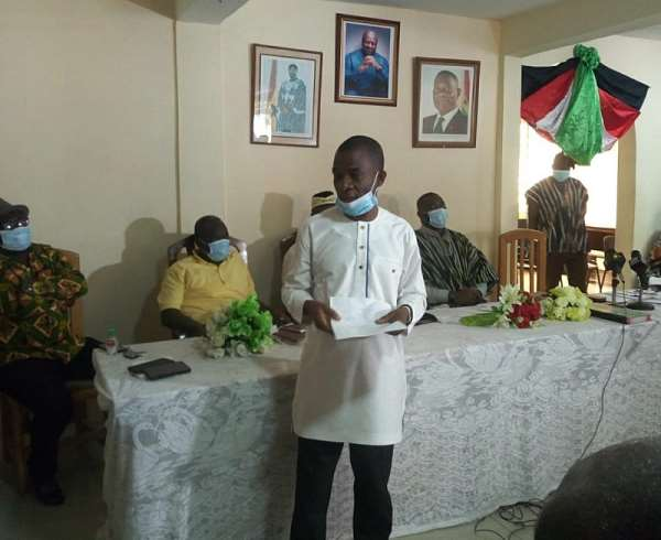 C/R: NDC Inaugurates Regional Campaign Team For The 2020 Elections