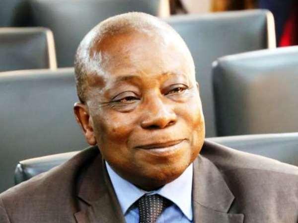 The Health Minister, Dr. Kwaku Agyeman-Manu