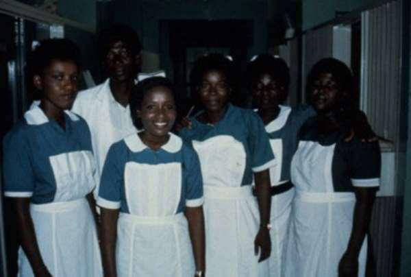 Tamale Teaching Hospital Nurses on strike