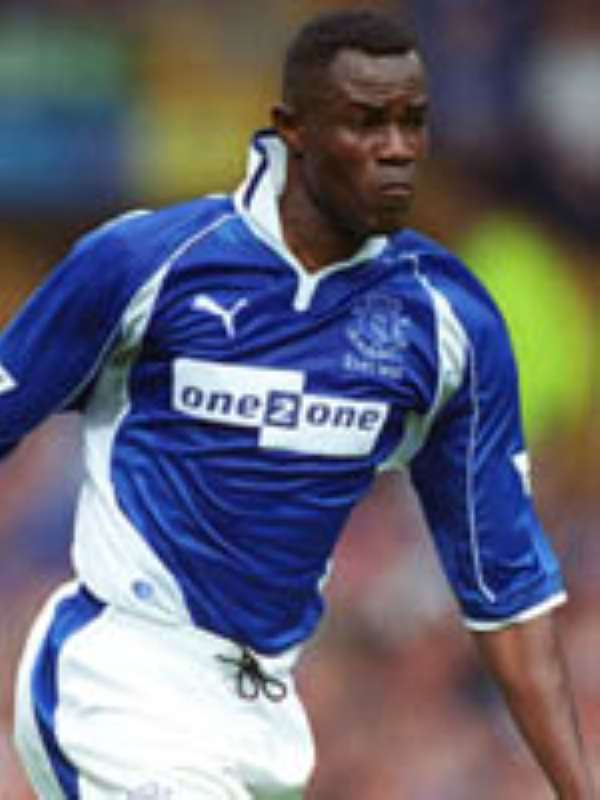 Nyarko Rejoins Everton
