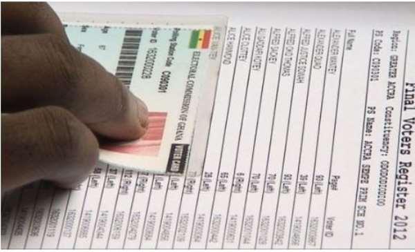 Exhibition Of Voters Register Begins Today