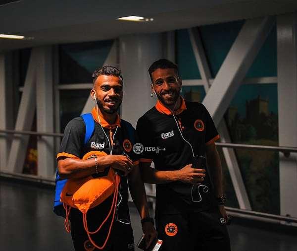 CAF CC: RS Berkane Depart For Ashanti Gold Encounter [PHOTOS]