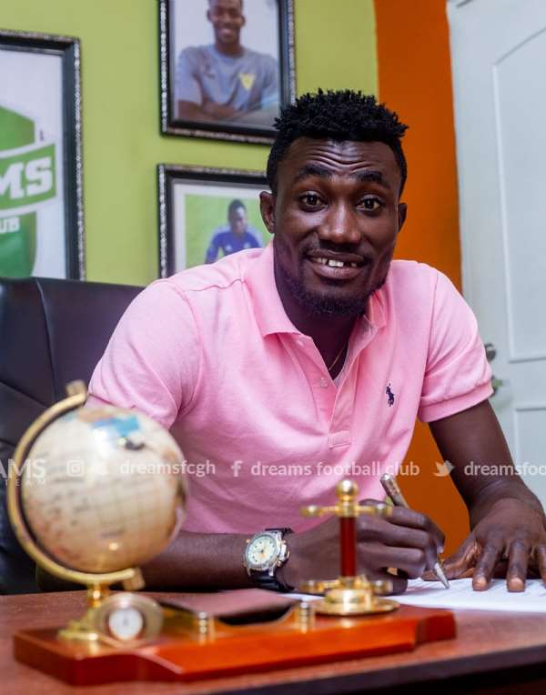Next Season Will Be Exciting - New Dreams FC Signing Agyenim Boateng Assure Fans