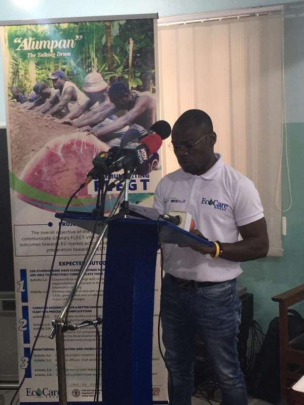 Ghana's Credibility On The International Timber Market Is At Stake—CSOs