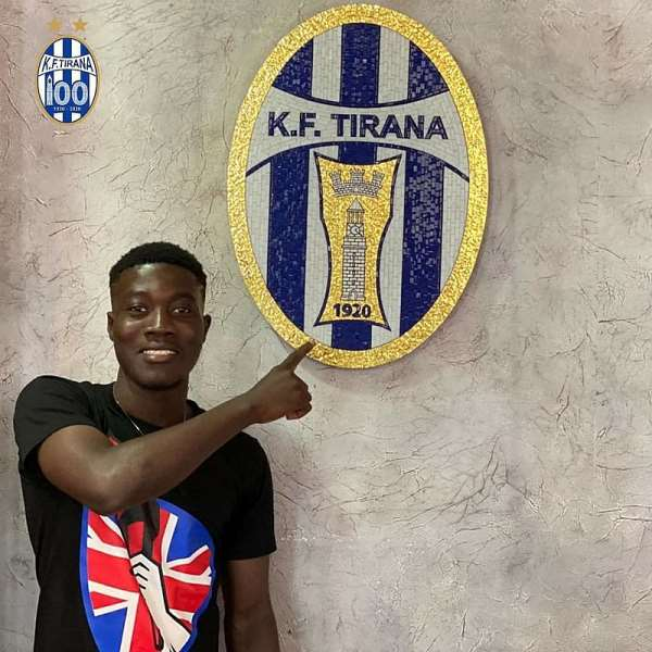 Ghanaian Teenager Ibrahim Sulley Joins KF Tirana From Olympics