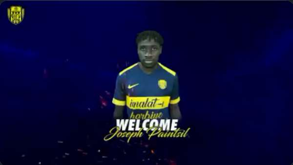 Turkish Outfit MKE Ankaragücü Sign Ghana Forward Joseph Paintsil On Loan