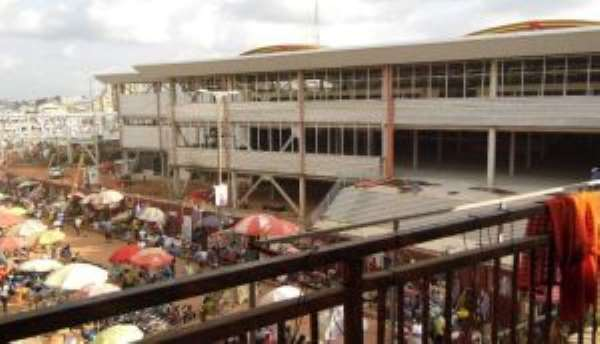 KMA To Demolish More Structures At Kumasi Central Market