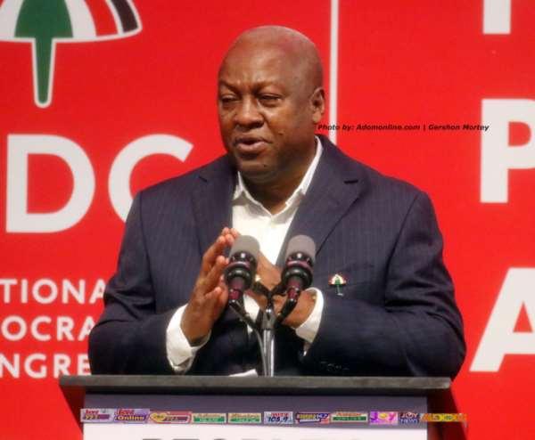 NDC Takes People's Manifesto To Kumasi
