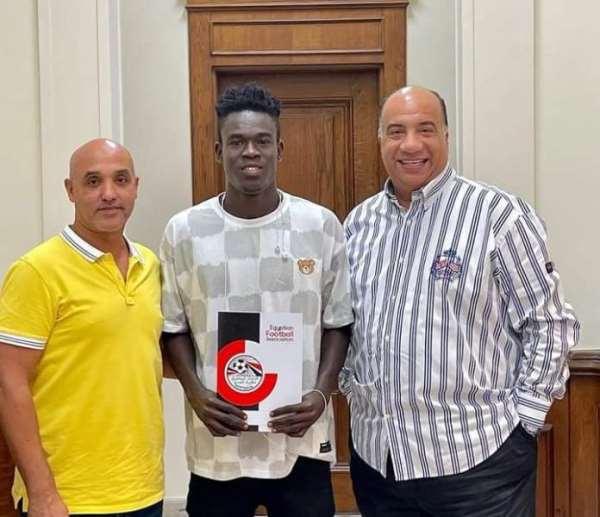Elmina Sharks striker Benjamin Bernard Boateng joins Egyptian club Al Ittihad Alexandria