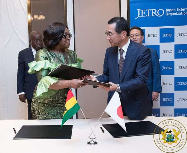 Relief for Ghanaians in Japan, others as gov't provides passport application centre