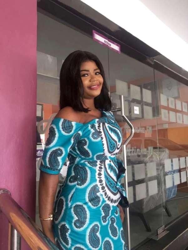 Atinka TV's Nana Adwoa Konkonsa Shares 'Sexy' Photos On Birthday Today