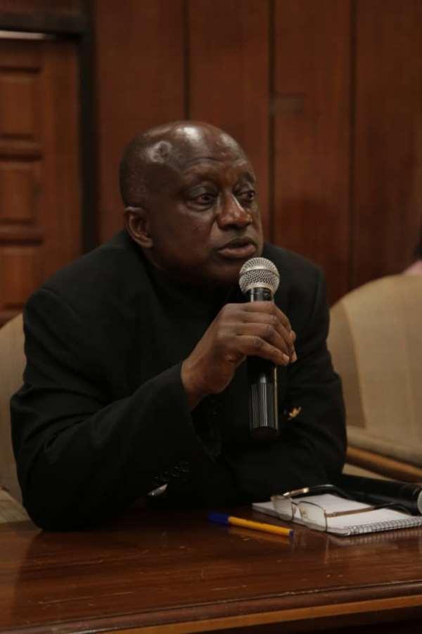 Ashanti Regional Minister, Hon. Simon Osei Mensah