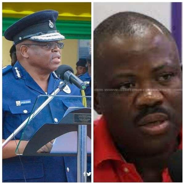 NDC'S Joshua Hamidu Akamba Schooled IGP, Mr. James Oppong Boanuh On Police Responsibilities