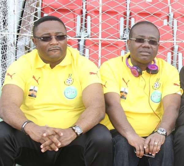 Former Sports Minister, Elvis Afriyie Ankrah and former GFA President, Kwesi Nyantakyi