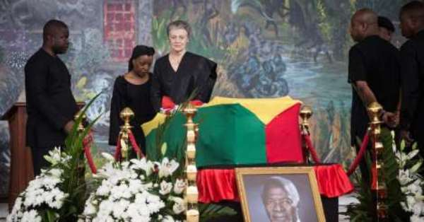 Final funeral rites of Kofi Annan [Watch live]