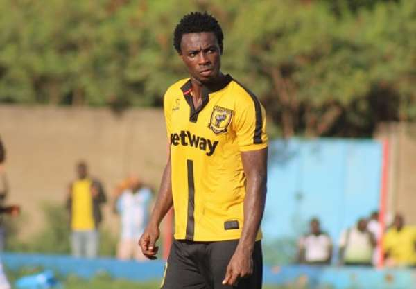 I Will Score Against RS Bekane On Saturday – Ashgold striker Shafiu Mumuni