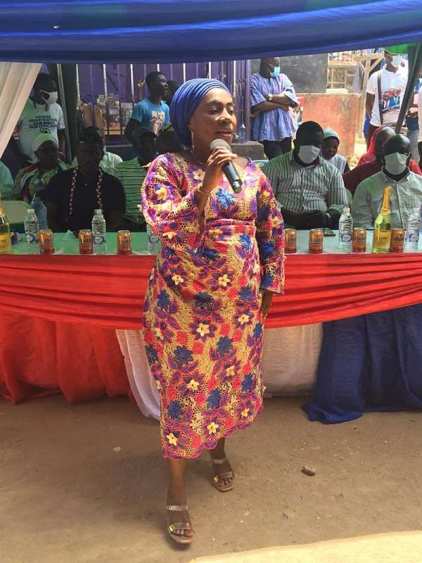 Election 2020: Central Regional Assistant Secretary Inaugurates Zongo Ladies For NPP
