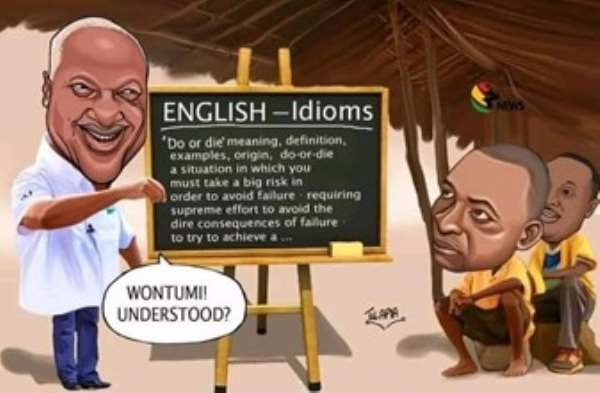 Brɔfo!  How JM outwitted them with language