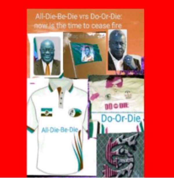 All-die-be-die vrs Do-or-die: now is the time to cease fire