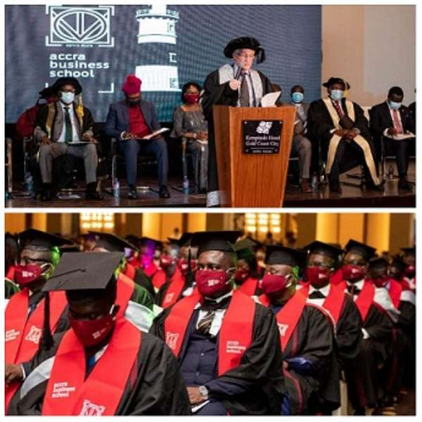 ABS graduates 227 students; Prof. Bell congratulates them for being good ambassadors